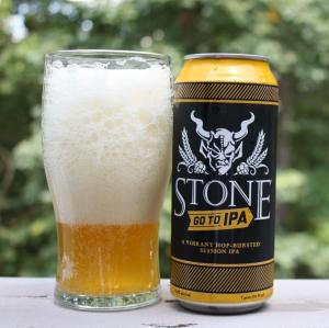 Stone IPA - Foamed