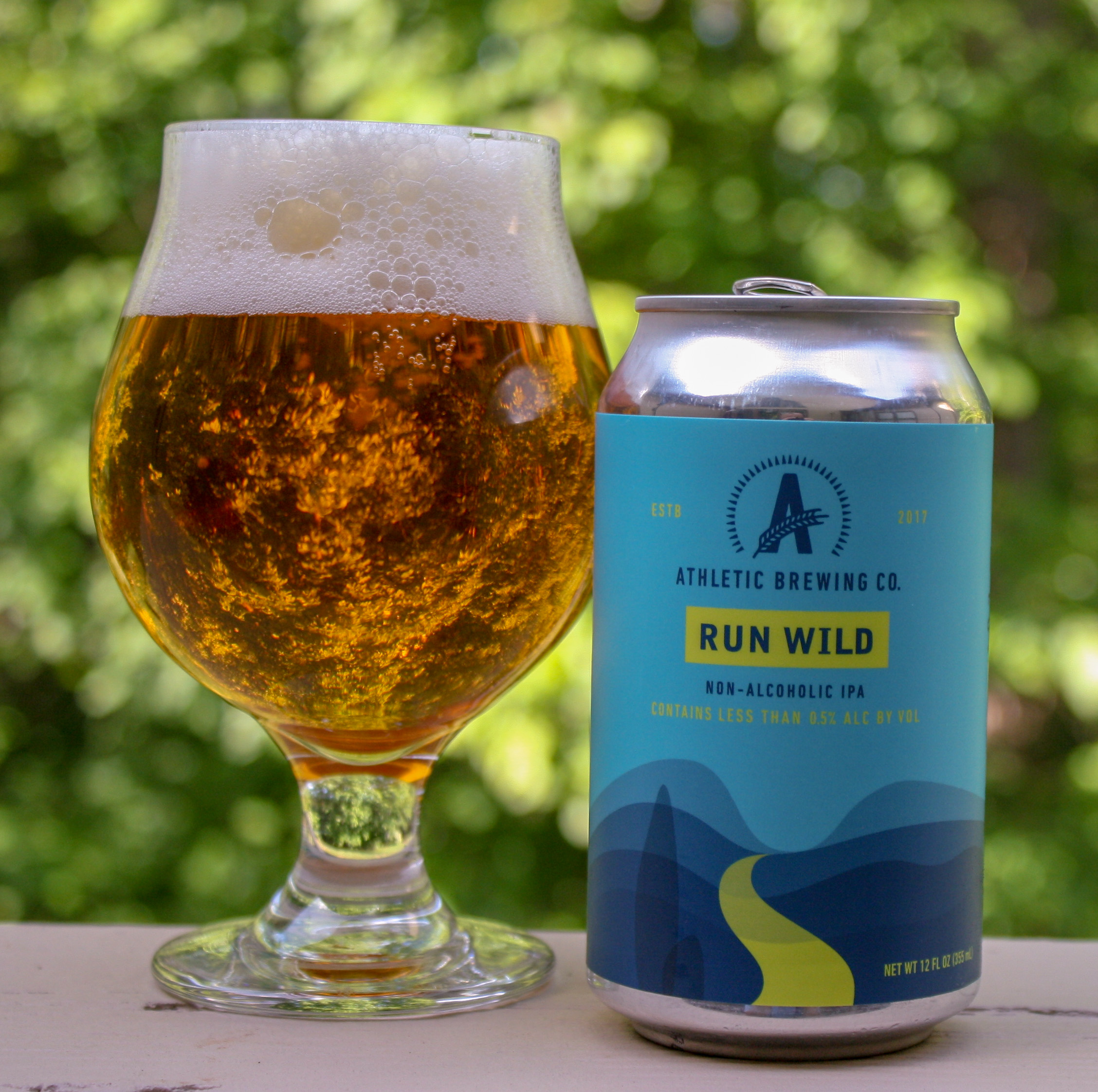 Athletic Brewing Runs Wild Non-Alcoholic IPA